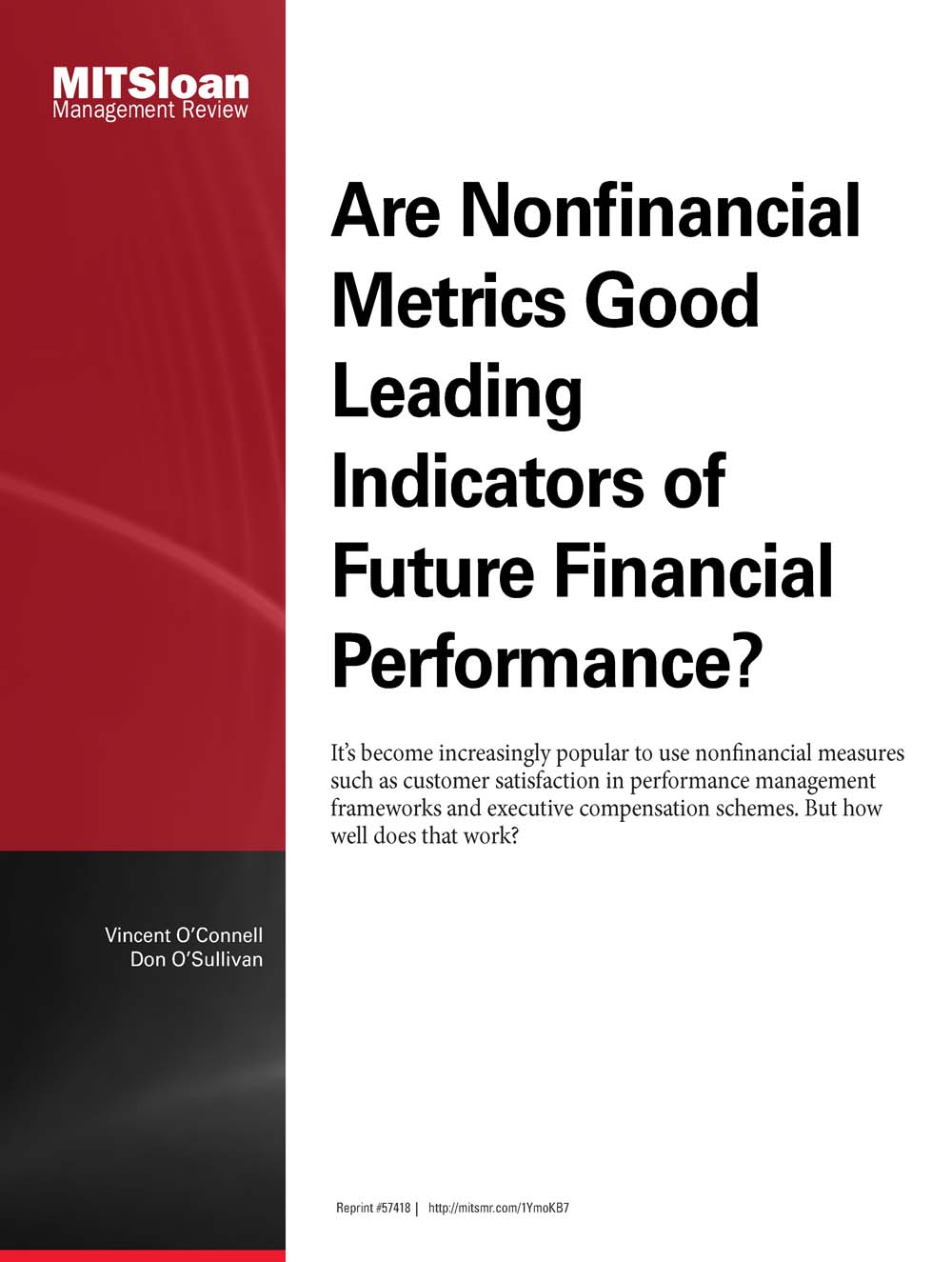 the use of nonfinancial measures to assess This study examines whether auditors can effectively use nonfinancial measures (nfms) to assess the reasonableness of financial performance and, thereby, help detect financial statement fraud (hereafter, fraud) the study provides empirical test of whether inconsistencies between financial and nfm.